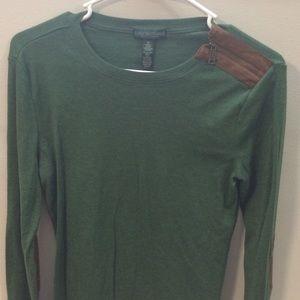 Ralph Lauren green shirt